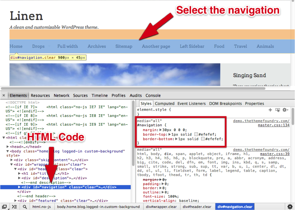 2 Customization Of WordPress Theme Using An Example