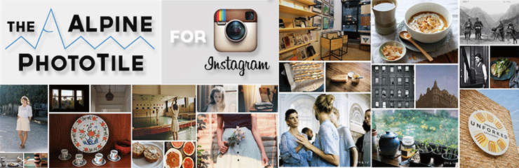 Alpine PhotoTile for Instagram