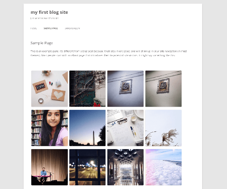 Easy Instagram Feed WordPress Plugin