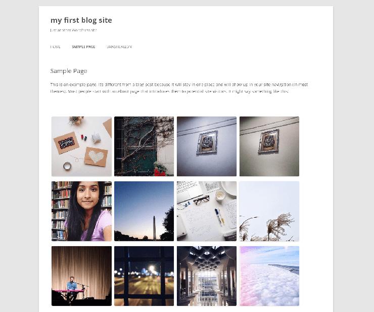 Easy Instagram Feed WordPress Plugin