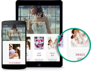 Exposure WordPress Wedding Photographers Theme