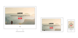 Landing Responsive WordPress Business Marketing Theme
