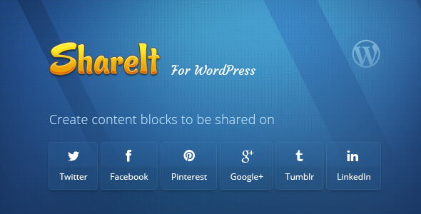 ShareIt WordPress Social Sharing Plugin