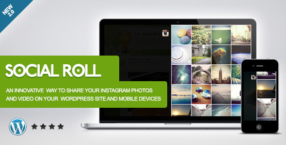 Social Roll Instagram WordPress Plugin