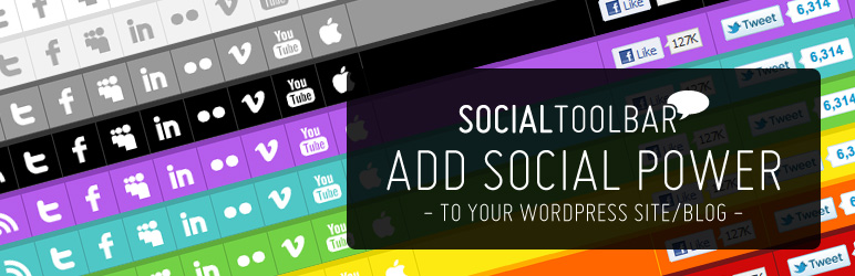 Social Toolbar WP Plugin