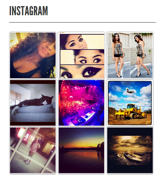 WP Instagram Bank Plugin