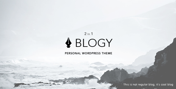 Blogy Modern & Classic Personal WordPress Blog Theme