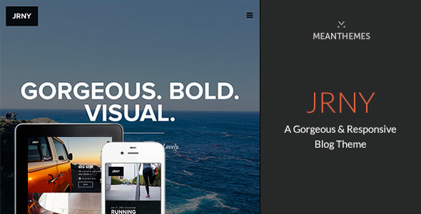 JRNY Responsive WordPress Blog Theme