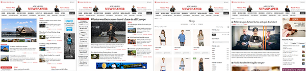 Advanced Newspaper WordPress Multiple Homepage Layouts Theme
