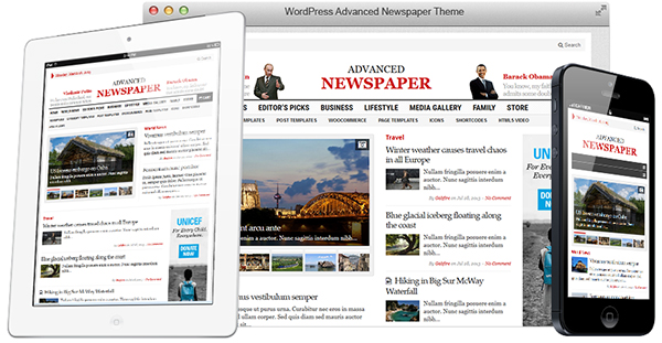 Advanced Newspaper WordPress e-Newspaper Theme