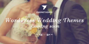 WeddingEngine WordPress Bride & Groom Theme