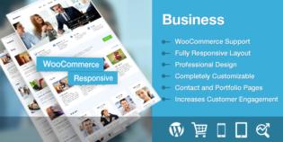Business Responsive WordPress Portfolio Theme