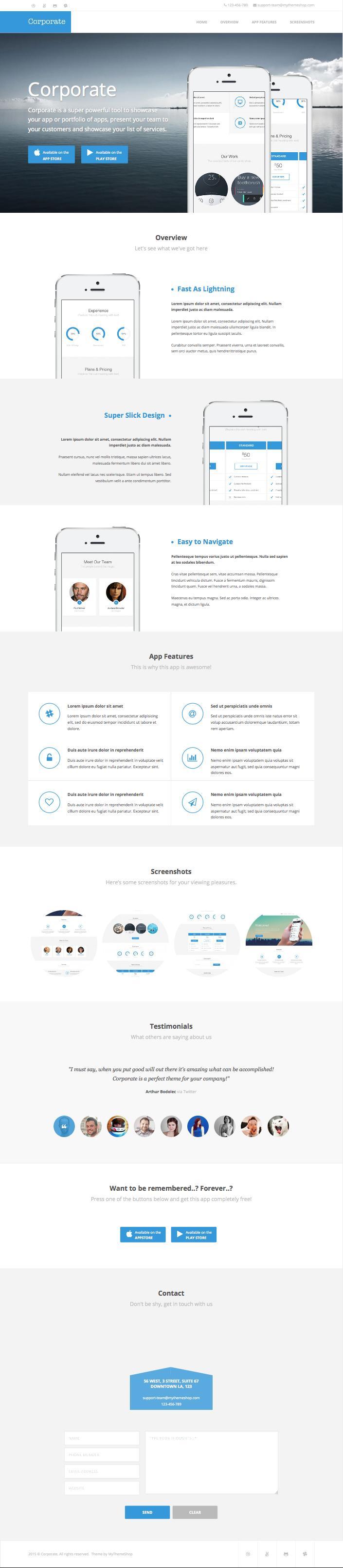 Corporate WordPress Business Agencies Theme