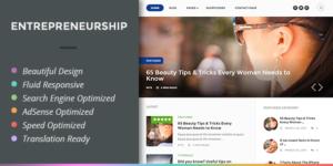 Entrepreneurship WordPress AdSense Optimized Theme