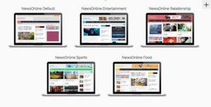 NewsOnline WordPress Multipurpose Magazine Theme