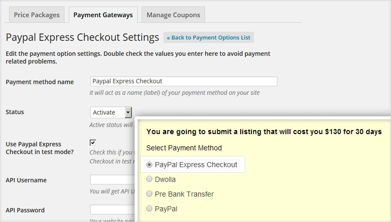 PayPal Express Checkout Payment Gateway WP Plugin