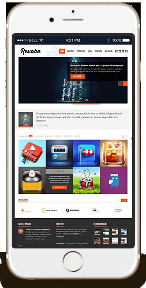 Revoke2 WordPress Business Theme