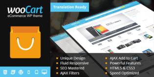WooCart Responsive WordPress eCommerce Theme