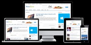 Daily 3.0 WordPress Magazine Bloggers Theme