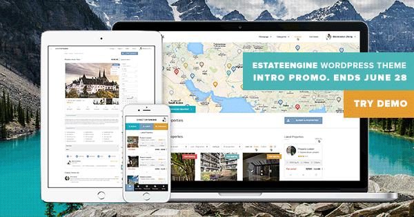 EstateEngine WordPress Real Estate Directory Portal Theme