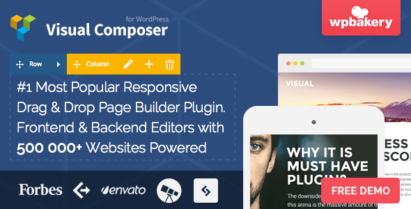 Visual Composer – Drag & Drop Page Builder WordPress Plugin