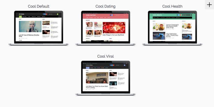 Cool WordPress Blog Magazine Design Theme