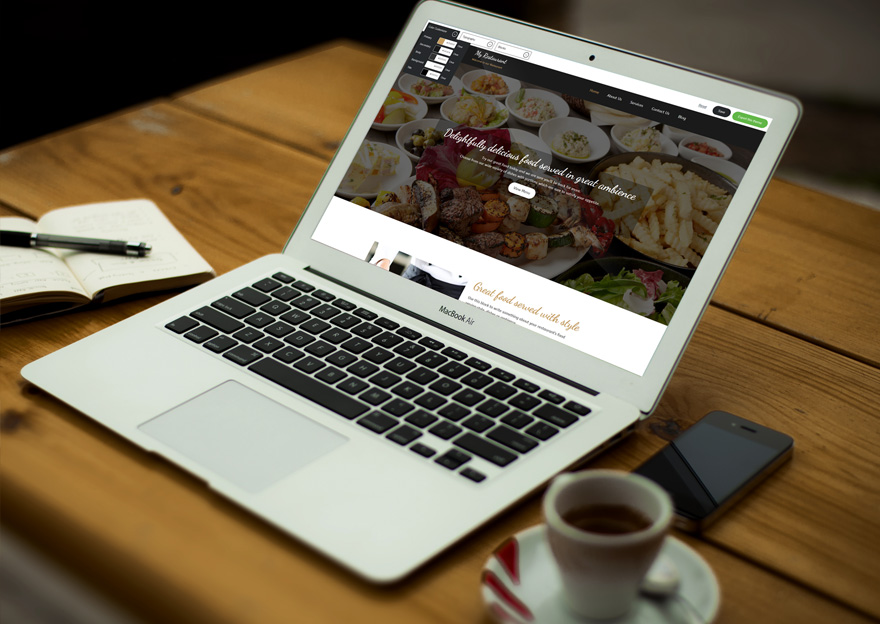 MyRestaurant WordPress QuickEdit Theme