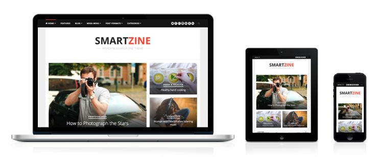 SmartZine WordPress Magazine Theme