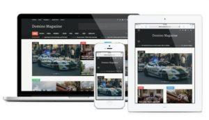 Domino Magazine WordPress Multifunctional Theme