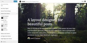 Fall WordPress Personal Bloggers Theme