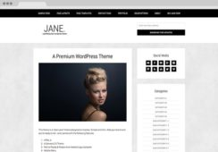 Jane WordPress Chic Photo Blogging Theme