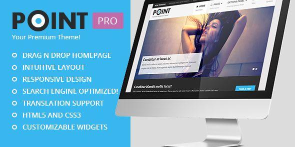 PointPro WordPress Blogging and Shop Theme