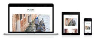 Posty WordPress Food, Health & Travel Blog Theme