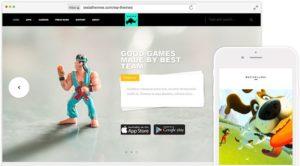 Rhino WordPress Game Developer Theme