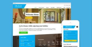 Villa Rental WP Booking Theme To Make Money