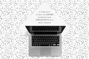 Pretty Creative WordPress Portfolio Theme