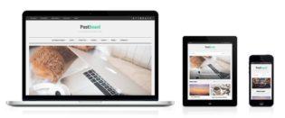PostBoard WordPress Pinterest Like Theme