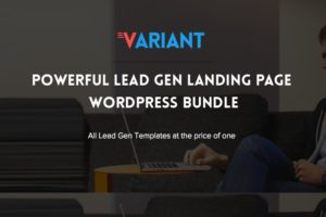 Variant WordPress 5 Landing Pages Theme