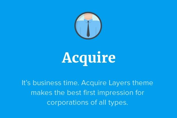 Acquire WordPress Business Service Theme