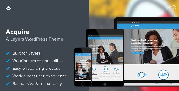 Acquire WordPress Layers WooCommerce Theme