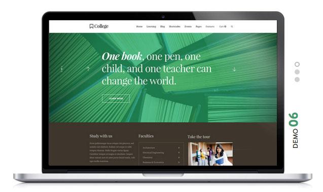 COLLEGE Education WordPress Theme