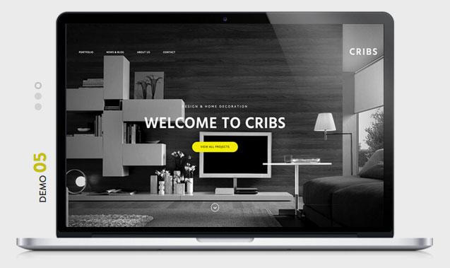 CRIBS Architecture WordPress Theme