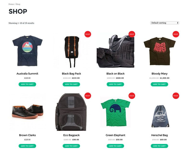 Split Scroll WordPress WooCommerce Theme