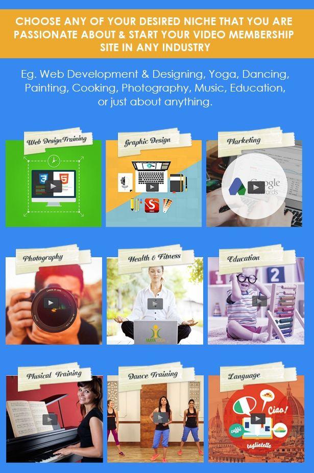 Video Member WordPress Multi Purpose Membership Theme