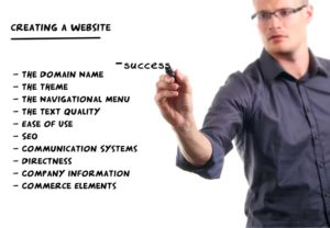 creating a website for success