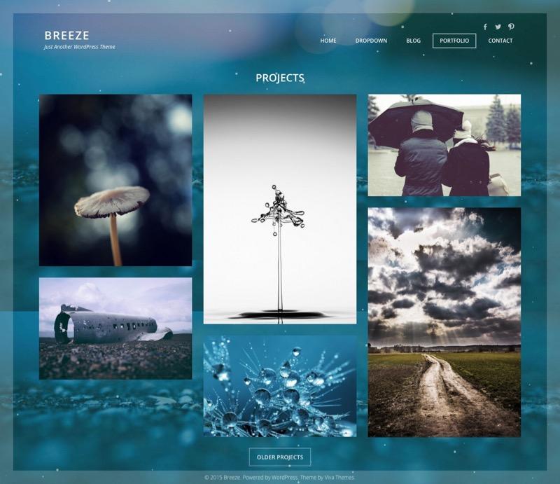 Breeze WordPress Business Portfolio Theme