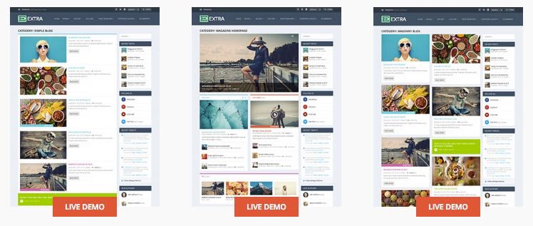 Create Your Own Layouts with Extra WordPress Theme