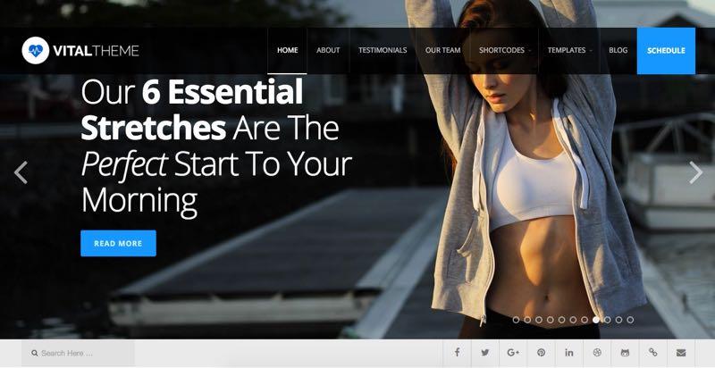 Vital WordPress Theme for Healthcare & Medical Industries