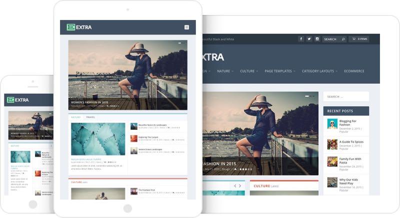 Extra WordPress Theme by Divi Builder