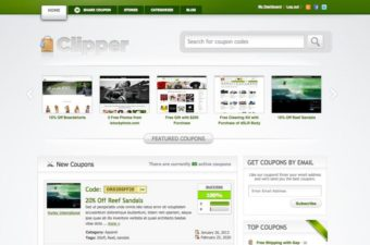 Clipper WordPress Theme for Coupon Affiliate Marketers